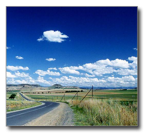 """фото """"Countryside in South Africa"""" метки: пейзаж, облака"""