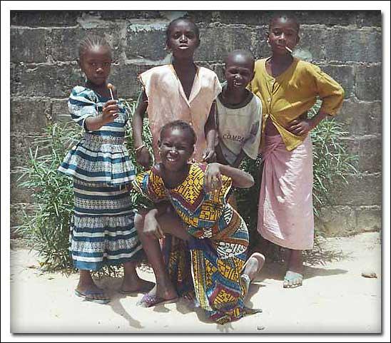 """фото """"Gambia Children"""" метки: портрет, путешествия, Африка, дети"""