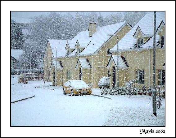"фото ""The street where I live"" метки: пейзаж, зима"