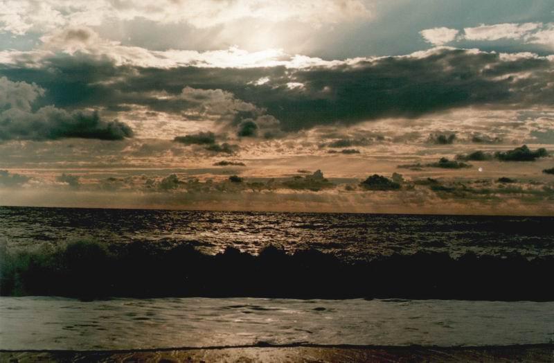 "фото ""Чуесный закат вестник мокрого утра"" метки: пейзаж, закат, облака"