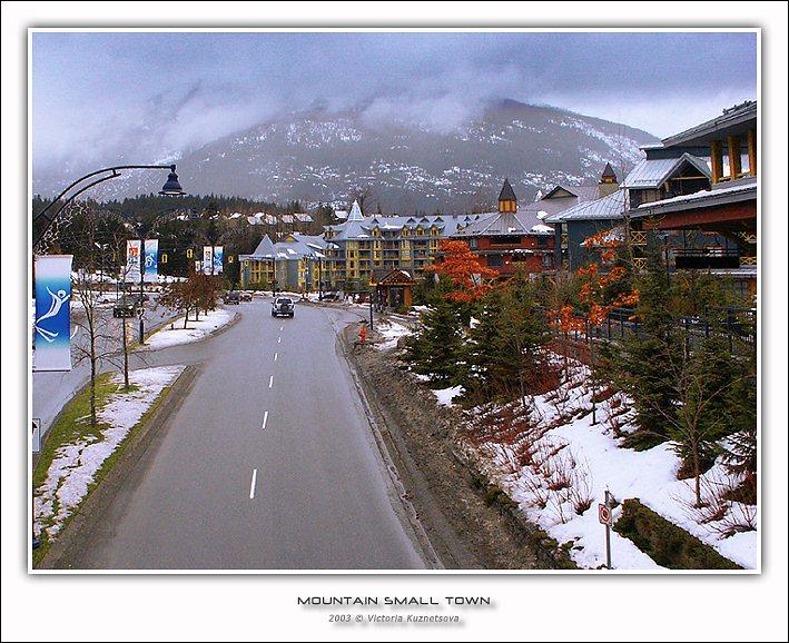 """фото """"Маленький горный городок"""" метки: архитектура, пейзаж, зима"""