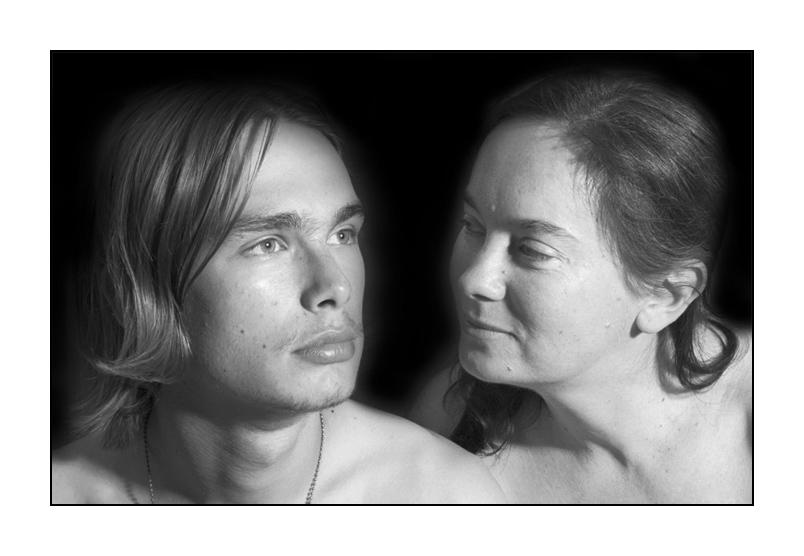 """фото """"Мать и Сын"""" метки: портрет, черно-белые,"""