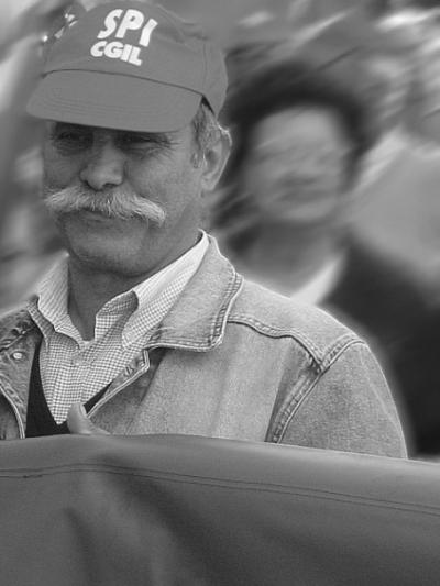 """фото """"Worker"""" метки: портрет, черно-белые, мужчина"""