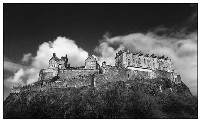 "фото ""Edinburgh Castle"" метки: архитектура, путешествия, пейзаж, Европа"