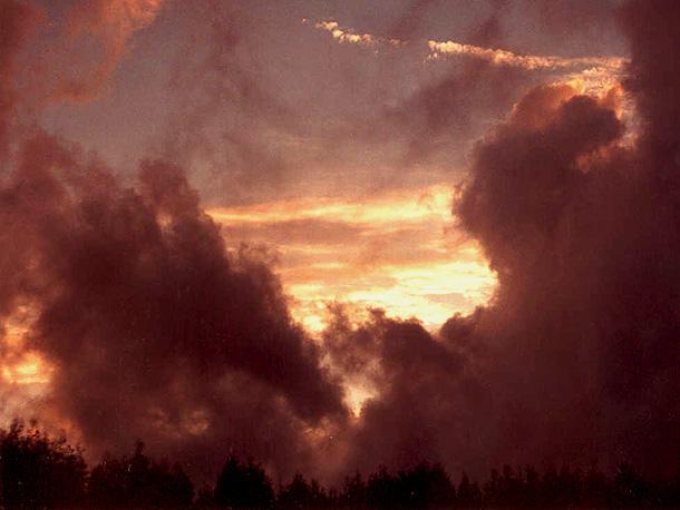 """фото """"Angry sky"""" метки: пейзаж, весна, облака"""