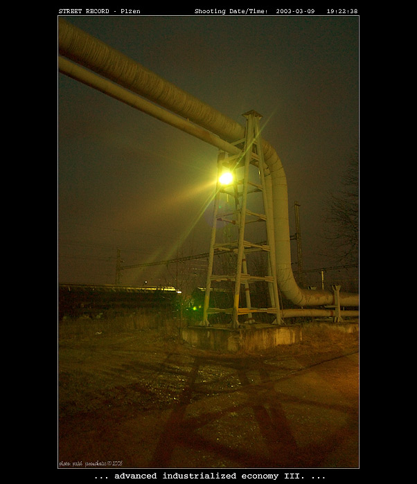 "фото ""...advanced industrialized economy III. ..."" метки: пейзаж, архитектура, ночь"