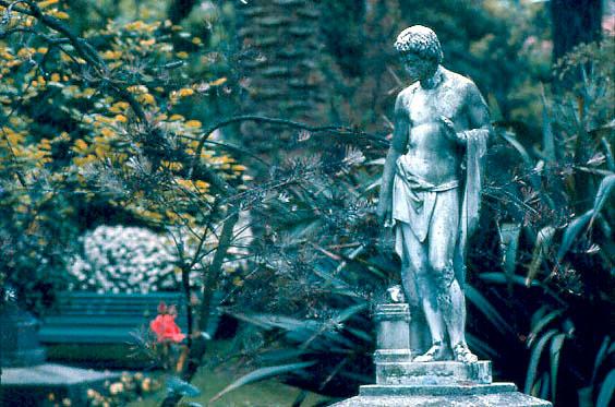 "фото ""In a roman garden"" метки: разное,"