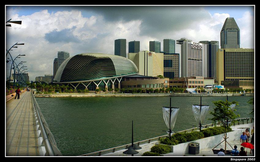 """фото """"Сингапур 2003"""" метки: архитектура, путешествия, пейзаж, Азия"""