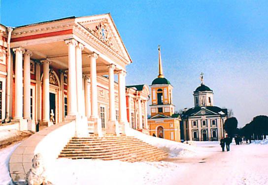 """фото """"Kuskovo"""" метки: архитектура, пейзаж,"""