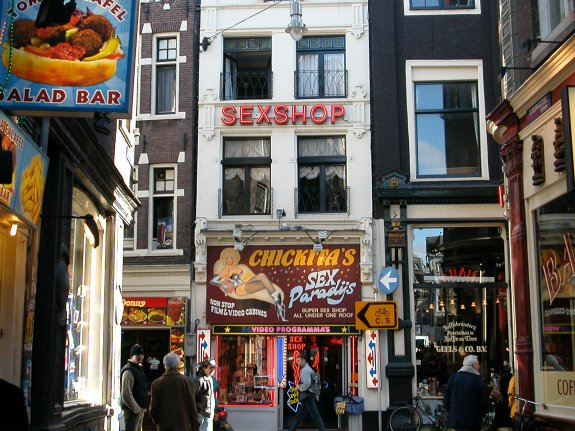"фото ""Amsterdam: Red light district"" метки: репортаж,"
