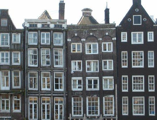 "фото ""Amsterdam: Old houses"" метки: путешествия, Европа"