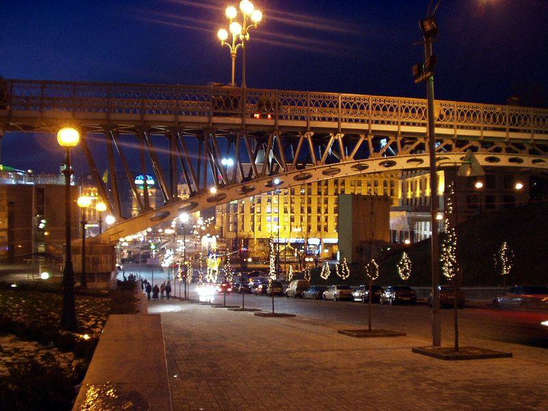 """фото """"Новогодняя ночь"""" метки: архитектура, пейзаж, ночь"""