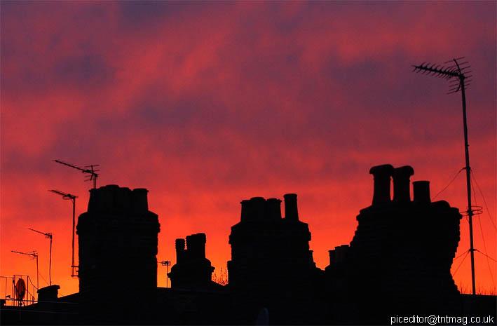 "фото ""London Skyline"" метки: архитектура, пейзаж, закат"