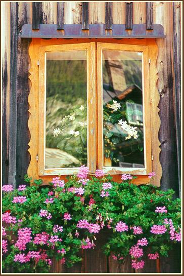 "фото ""La casa nella finestra - Altausee - Austria"" метки: путешествия, разное, Европа"
