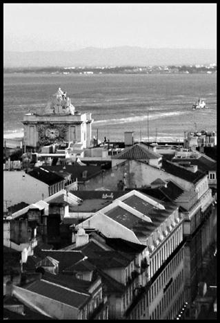 """фото """"Lisbon b&w"""" метки: архитектура, пейзаж,"""