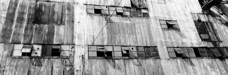 "фото ""Warehouse Panorama"" метки: архитектура, черно-белые, пейзаж,"