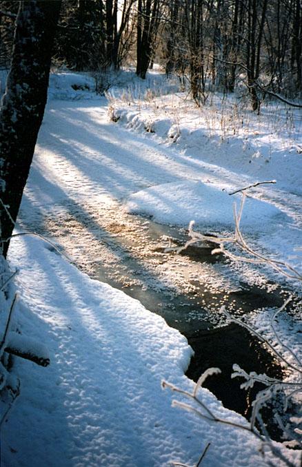 "фото ""Блестит!"" метки: пейзаж, вода, зима"