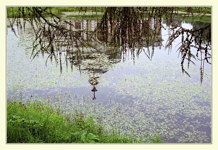 """фото """"Пруд в Кусково"""" метки: пейзаж, вода"""