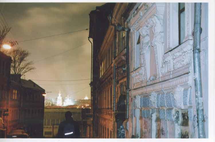 "фото ""путь к храму"" метки: пейзаж, ночь"
