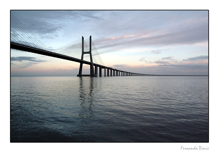 "фото ""End of day in the bridg"" метки: архитектура, пейзаж,"