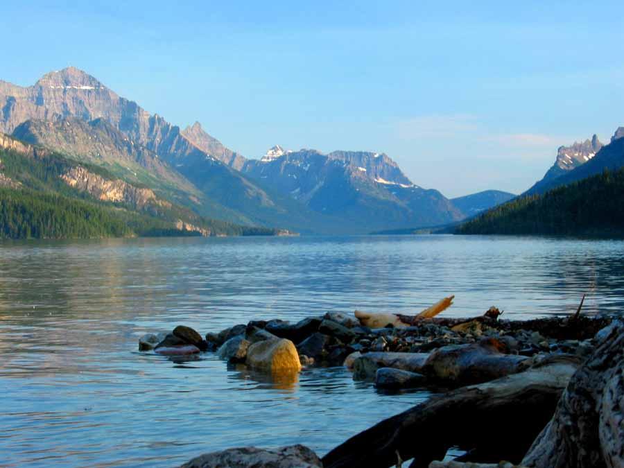 """фото """"Tranquility"""" метки: пейзаж, вода, горы"""