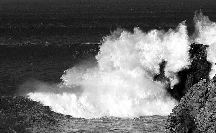 "фото ""From a Series of ""A Sea Storm"" - The Crash I"" метки: пейзаж, вода"
