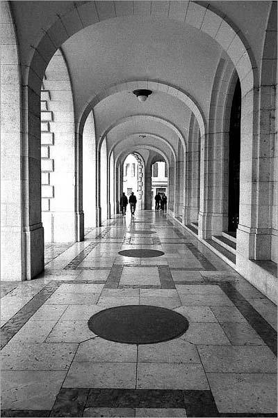 "фото ""Arcades"" метки: черно-белые,"
