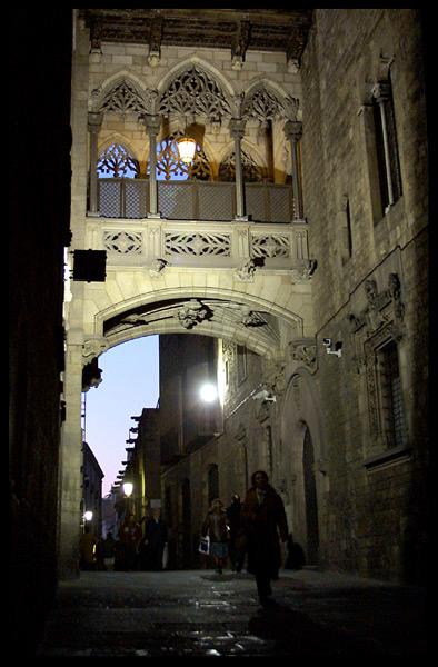 """фото """"Тёмный переулок."""" метки: архитектура, путешествия, пейзаж, Европа"""