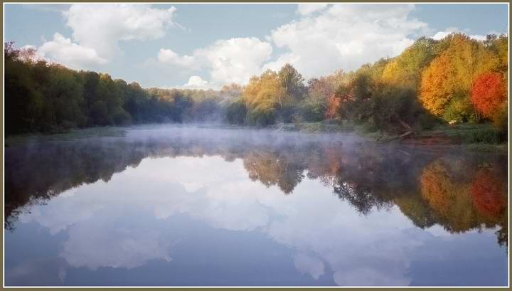 """фото """"Сделайте мне красиво или осенний кич :))"""" метки: пейзаж, вода, осень"""