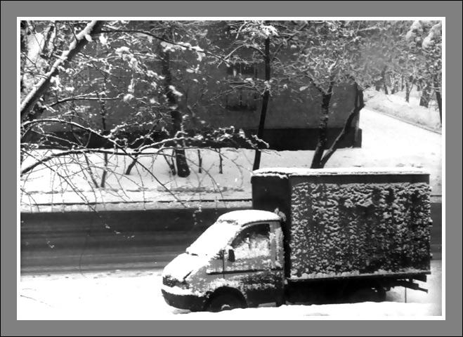 """фото """"Опять зима!.."""" метки: пейзаж, черно-белые, зима"""