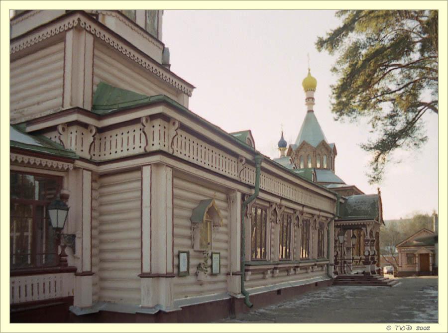 """фото """"Церквушка в Подмосковье"""" метки: архитектура, пейзаж,"""