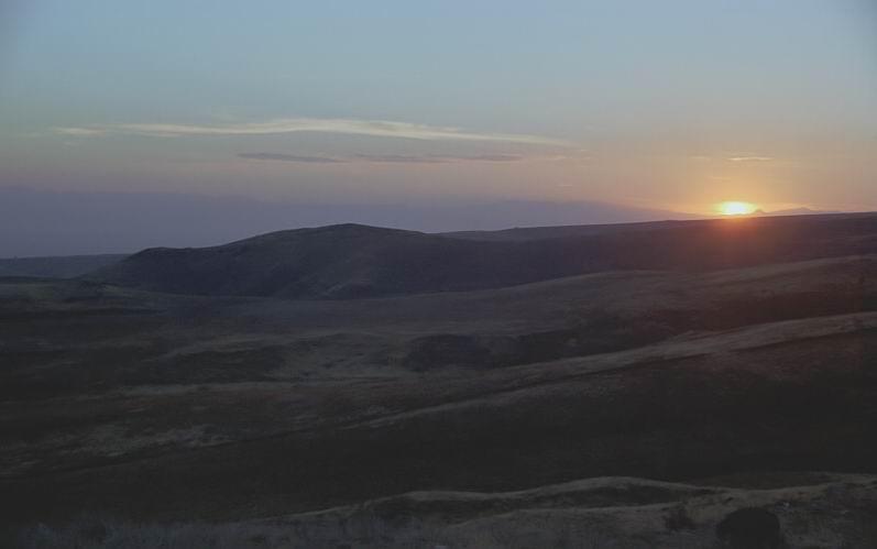 """фото """"Пейзаж в лунно-солнечном свете!"""" метки: пейзаж, горы, закат"""