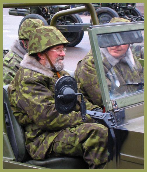 """фото """"Независимость 24-02-2003. Эстонский боец"""" метки: репортаж,"""