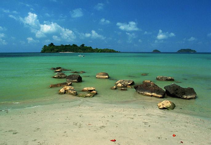 """фото """"Острова в океане"""" метки: путешествия, пейзаж, Азия, вода"""