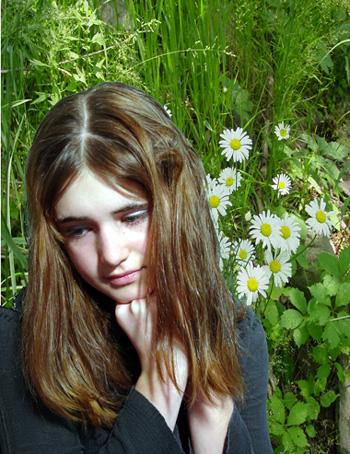 """фото """"Daisies"""" метки: портрет, природа, дети, цветы"""