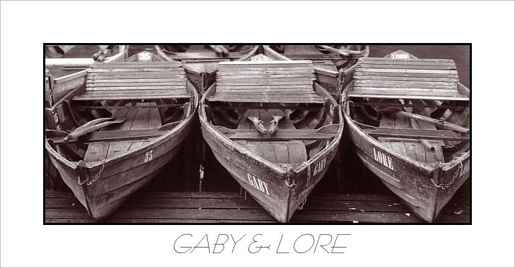 "фото ""Gaby & Lore"" метки: черно-белые, разное,"