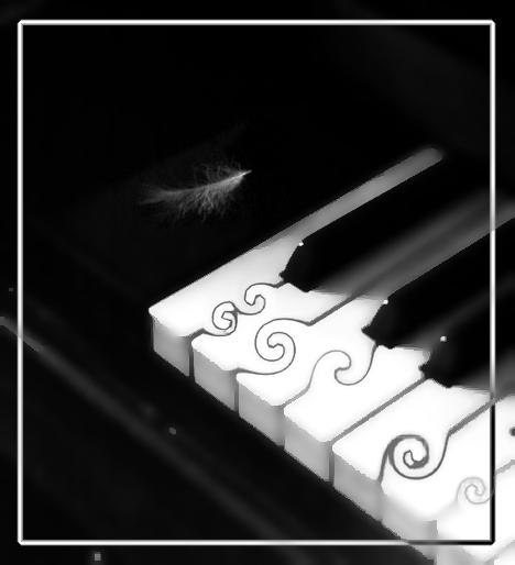 "фото ""Фортепьяно-2"" метки: абстракция, черно-белые,"