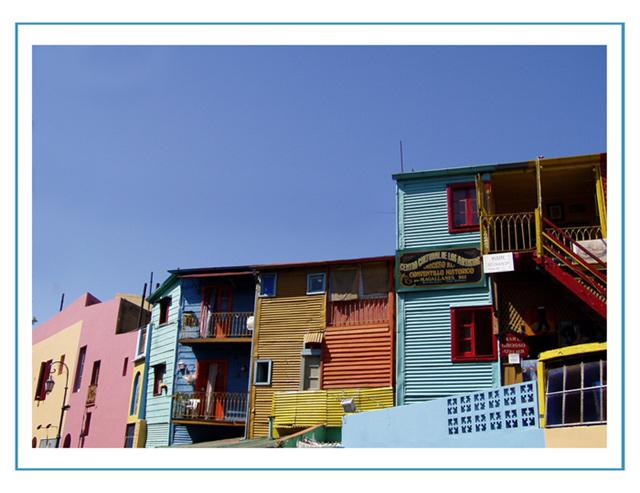 """фото """"La Boca"""" метки: архитектура, путешествия, пейзаж, Южная Америка"""