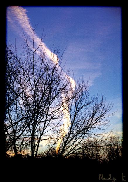 """фото """"золотистые всполохи мирного неба.."""" метки: пейзаж, облака"""
