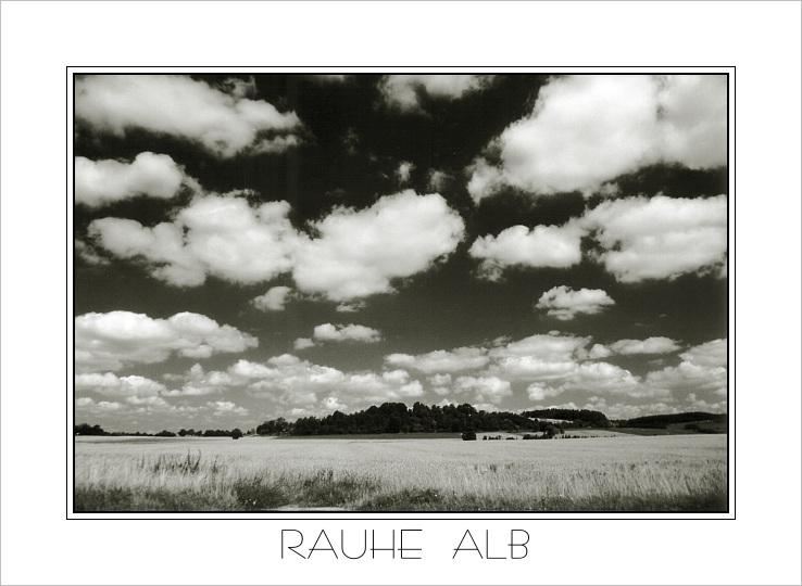 """фото """"Rauhe Alb"""" метки: пейзаж, путешествия, Европа, облака"""