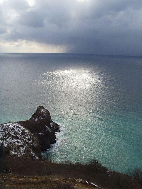"""фото """"Ray of light"""" метки: пейзаж, вода, закат"""