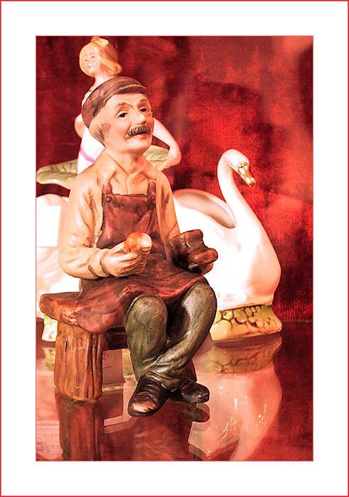 """фото """"Дедушка с ботинком"""" метки: натюрморт,"""