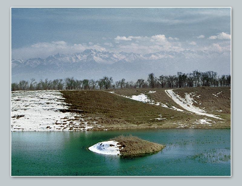 """фото """"Линия фронта"""" метки: пейзаж, весна, зима"""