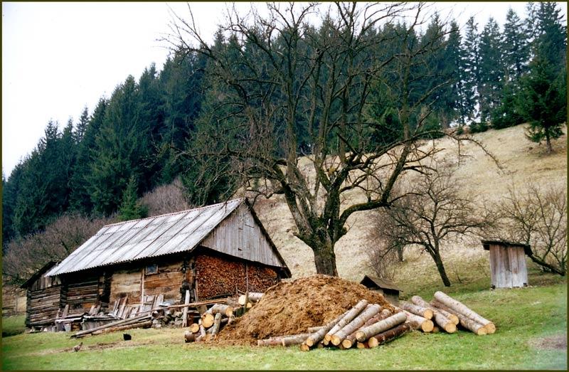 "фото ""4 Wooden Houses"" метки: архитектура, пейзаж, зима"