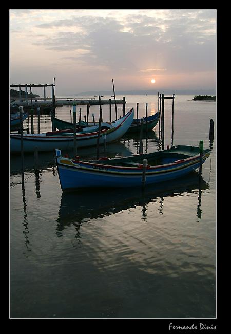 """фото """"Preparing a new day"""" метки: пейзаж, вода"""