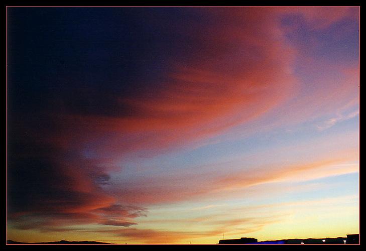 """фото """"Клубничный йогурт"""" метки: пейзаж, закат, облака"""