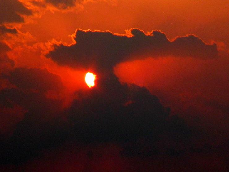 """фото """"Formations"""" метки: пейзаж, закат, облака"""