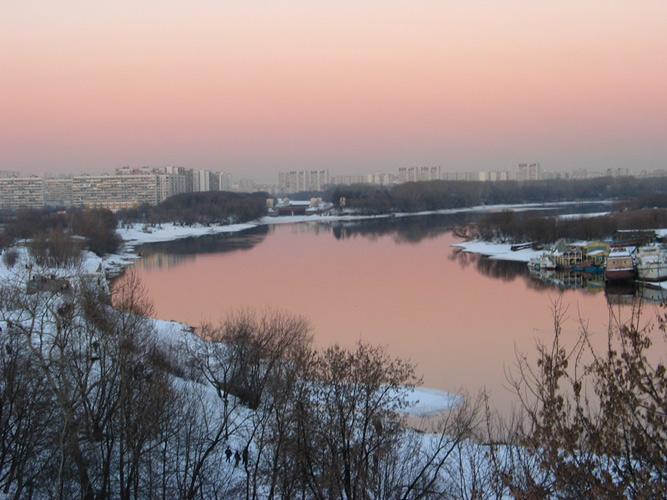"""фото """"Розовый вечер"""" метки: разное, архитектура, пейзаж,"""