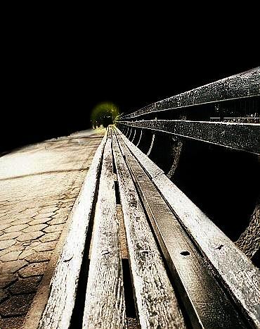 "фото ""The Bench"" метки: абстракция,"