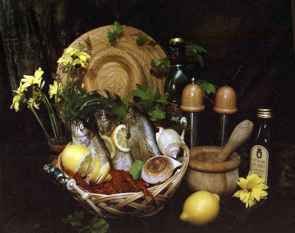 "фото ""Fish for Supper"" метки: натюрморт,"